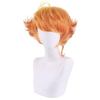 Wig Cap Promised Neverland Party Synthetic Hair Wigs