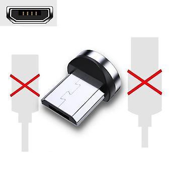 Micro magnético, usb tipo c, cable de carga, cargador de imán, cable de alambre