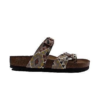 Birkenstock Mayari Rhombus Womens Vegan Slip On Mule Sandals