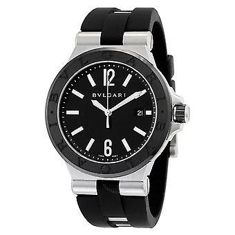 Bvlgari Diagono Automatic Black Dial Men's Watch 102029