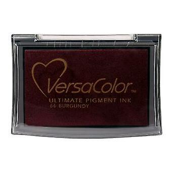 Tsukineko Versacolor Pigment Bläckkuddar - Bourgogne