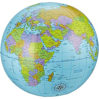 Wokex Sud 5490000 - Pallamondo, Aufblasbare Weltkarte, Durchmesser 40 cm