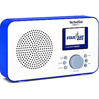 HanFei Viola 2 C tragbares DAB Radio (DAB+, UKW, Lautsprecher, Kopfhreranschluss, 2,4 Zoll