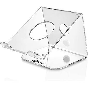 HanFei Gamma 1 - Design Laptop Stnder Acryl - ergonomische Notebook Stnder/Plexiglas Laptop