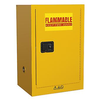 Sealey Fsc07 Flammables Storage Cabinet 585 X 455 X 890Mm
