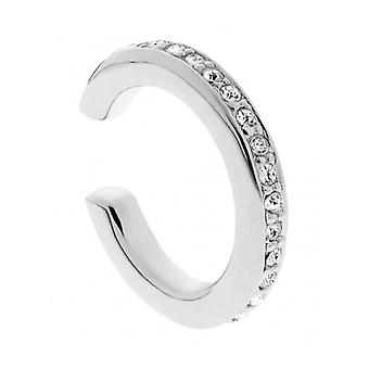 Traveller Ear Cuff - Rhodium Plated - Swarovski Crystals -157412 - 869