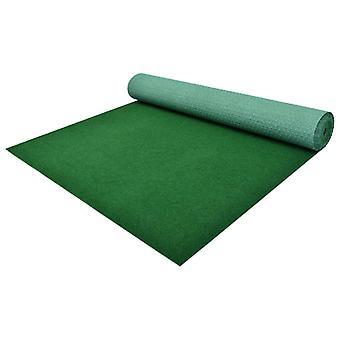 vidaXL العشب الاصطناعي مع ترصيع PP 5 × 1 متر الأخضر