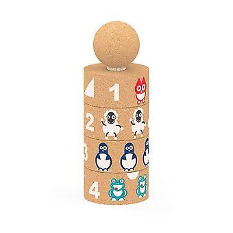 Elou Totem Pole Building Toys
