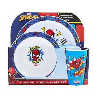 Spider-Man Pop 3 Piece Tableware Set