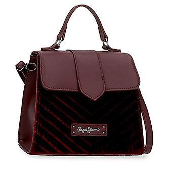 بيبي جينز كلاريس أحمر حقيبة يد 20x16x11.5 سم الاصطناعية الجلد والبوليستر