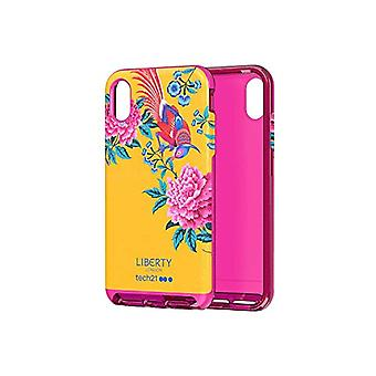 Tech 21 Evo Luxe Liberty Elysian Protective Case for Apple iPhone XS Max - Yellow
