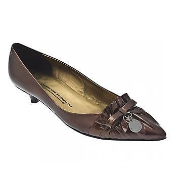 Kennel Und Schmenger Frill Front Low Heel Court Shoe