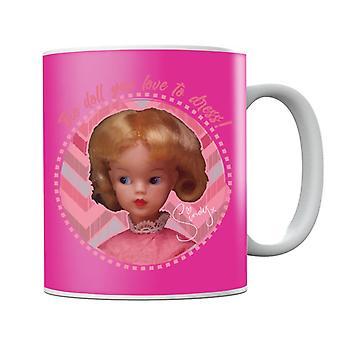 Sindy Pink Dress Mug