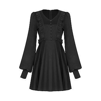 Punk Rave Dark Witch Mini Dress
