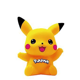 Новая раскраска Toy Pikachu Виниловая копилка Diy Окрашенный денежный ящик ES9360