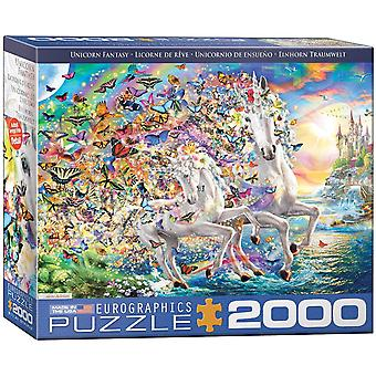 Eurografie - fantezie unicorn - 2000 buc - eurografice - fantaisie licorne - 2000 buc.
