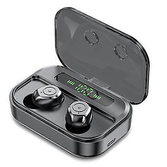 M7s tws سماعات الأذن اللاسلكية بلوتوث 5.0 سماعة cvc8.0 الضوضاء إلغاء هيئة التصنيع العسكري 3600mah ipx7 سماعة رأس للماء