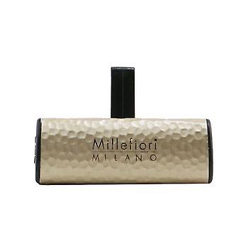 Millefiori Icon Metal Shades Car Air Freshener - Incense & Blond Woods 1pc