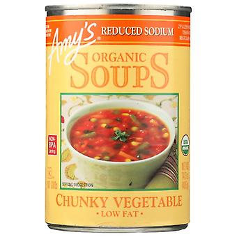 Amys Soup Vegetable Chunky Ls, Case of 12 X 14 Oz