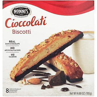 Nonnis Biscotti Cioccolari, Case of 12 X 6.88 Oz
