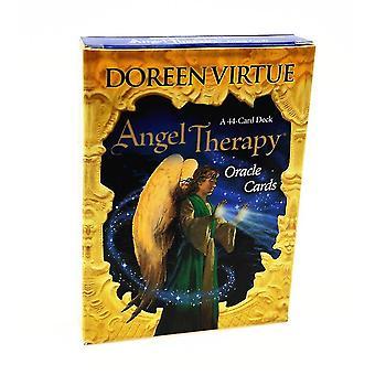 الملاك الجديد العلاج الملاك العلاج أوراكل بطاقات التارو سطح السفينة لعبة النسخة الإنجليزية لعبة الجدول sm37508