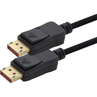 1 x DP Kabel 8K 60Hz - 2m - Displayport Kabel, DP 1.4 Bandbreite von max. 32,4 Gbit s 7680 x 4320 60