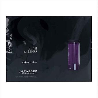 Soin Protecteur Cheveux Semi di Lino Sublime Shine Lotion Alfaparf Milano (12 x 13 ml)