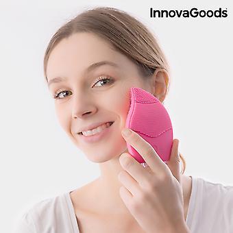 InnovaGoods Limpiador Facial de Silicona-Masajeador