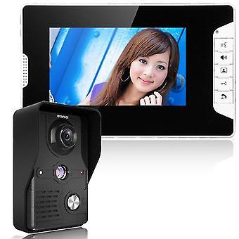 Sisäpuhelin visuaalinen sisäpuhelin langallinen video-ovipuhelinjärjestelmä sisämonitori