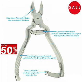 Toe Nail Clippers Cutters Nippers Chiropody Heavy Duty Thick Fungus Ongle incarné