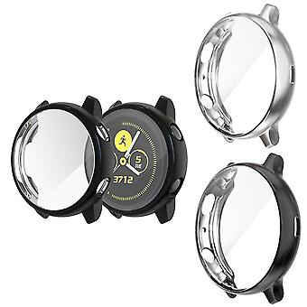 2pcs Compatible With Galaxy Watch Active2 Case 40mm