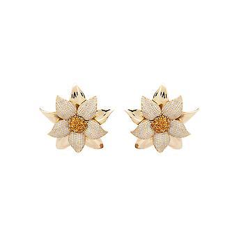 Daisy Flower Earring Gold