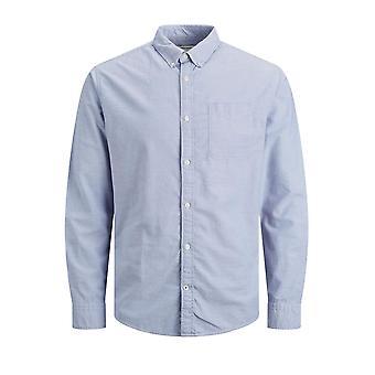 Shuuk Oxford knapp ner skjorta