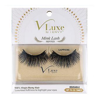 False Eyelashes V Luxe Remy Hair I-Envy Vlef04 Inspired Sapphir