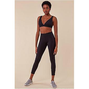 Cosmochic Bralette & Legging Workout Lounge Set - Black
