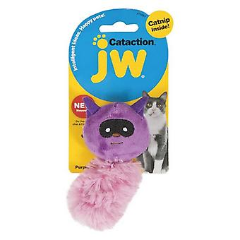 JW Pet Cataction Catnip Plush Raccoon Cat Toy  - 1 count