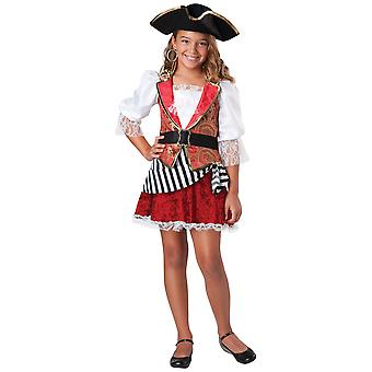 Pretty Pirate of the Carribbean Buccaneer Toddler Girls Costume