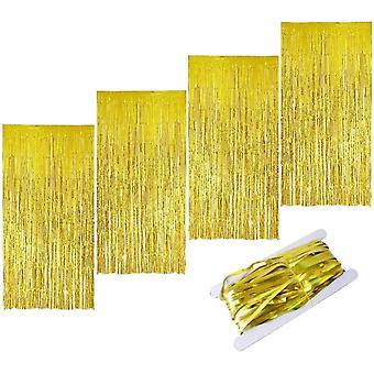 Aluminum Foil Tassel Glitter Metal Curtains