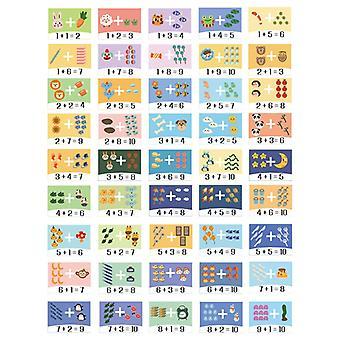 子供のおもちゃ木製の数学ゲームボックスの加算と減算のおもちゃパズルの誕生日プレゼント