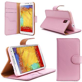 i-Blason Samsung Galaxy Note III Smart Phone Leather Slim Book Pink