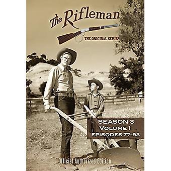 Rifleman: Season 3 - Vol 1 [DVD] USA import