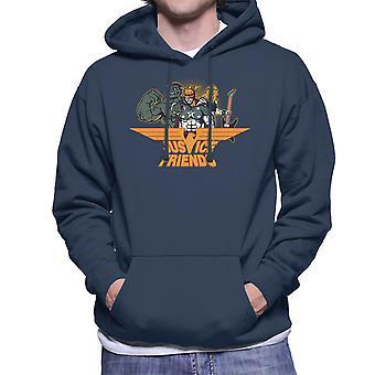 Dexters Laboratory Justitie vrienden mannen de Hooded Sweatshirt