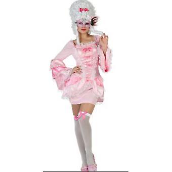 Vrouwen kostuums vrouwen middeleeuwse jurk sexy roze