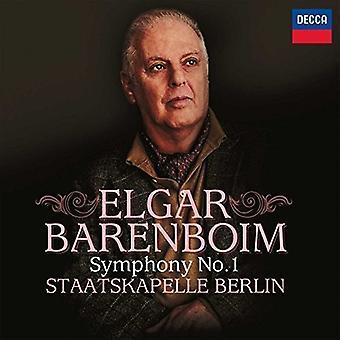 Barenboim/Staatskape - Elgar: Importación de Estados Unidos Symphony No.1 [CD]