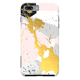 ArtsCase Designers casos ouro Splatter para iPhone dura 8 Plus / iPhone 7 Plus