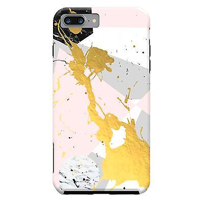 ArtsCase Designers Cases Gold Splatter for Tough iPhone 8 Plus / iPhone 7 Plus