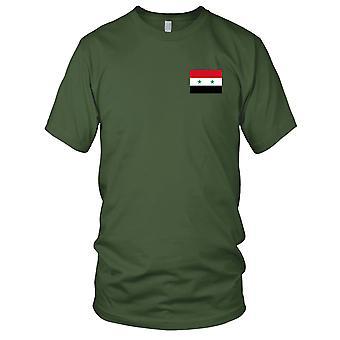 Brodé de Syrie syrien pays drapeau National - Logo - 100 % coton T-Shirt Kids T Shirt