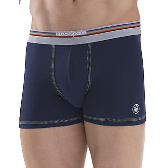 BlackSpade Colours Navy Blue Cotton Mens Boxer M9550