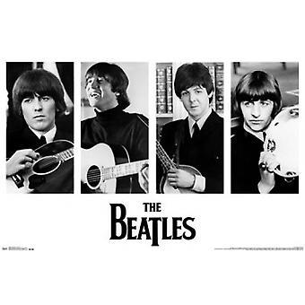 The Beatles - porträtt affisch affisch Skriv