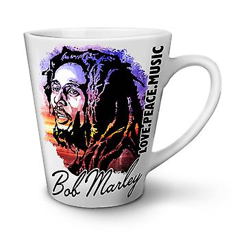 Bob Marley Love Celebrity NEW White Tea Coffee Ceramic Latte Mug 12 oz | Wellcoda